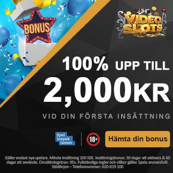 videoslots casino bonus code